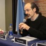 Charla de Diego Hurtado en la UNLP