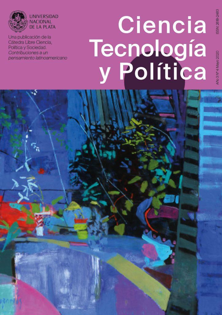 Tapa del número 4 de la Revista Ciencia, tecnología y política