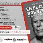 23-09 Presentación del libro de Julio López