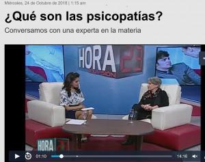 Entrevista a Elizabeth León en La Paz, Bolivia