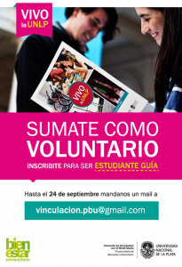 Flyer difusión Estudiantes Guías