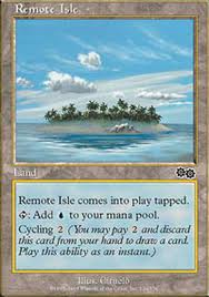 remote isle magic card