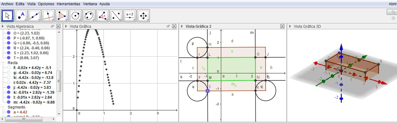 Proyecto de extensión – Enseñar y aprender física y matemática con GeoGebra