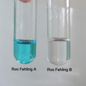 Los reactivos precursores del reactivo de Fehling